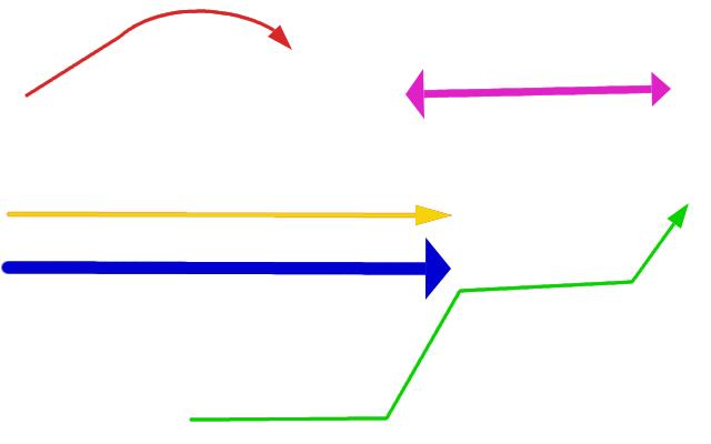 Стрелки в GIMP в один клик.